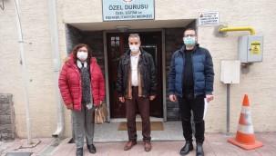 Odunpazarı'ndan rehabilitasyon merkezlerine ziyaret