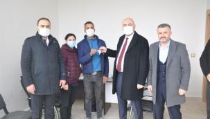 ORHANGAZİ'DE TOKİ 4.ETAP HAK SAHİPLERİNE TESLİM EDİLDİ