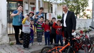 Yüksekalan'ın çocukları mutlu