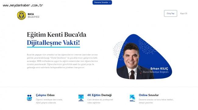 Buca'nın KPSS adaylarına ücretsiz çevrim içi dershane