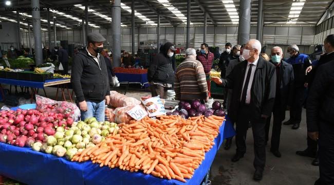 Karabağlar'da pazarlar cumartesi günü sıkı önlemlerle açılacak