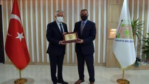 Bangladeş ve Cezayir Büyükelçileri, Başkan Başdeğirmen'i ziyaret etti