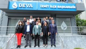 Başkan Hürriyet'ten Deva Partisi'ne iade-i ziyaret