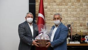 Belediye heyeti Afyonkarahisar'da teknik incelemede bulundu
