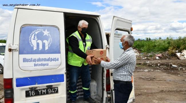 Belediyeden mevsimlik işçilere özel destek