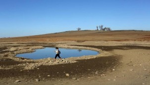 California'da şiddetli kuraklık nedeniyle Folsom Gölü'nün suları çekilince, 1960'larda kaybolan bir uçağın kalıntıları bulundu.