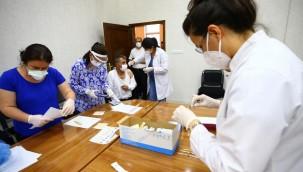 Koronavirüs aşı odalarında görevli personele ek ödeme