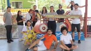 Köyde-İz projesi Vişneli Köyü'ndeydi 28 Temmuz 2021 Çarşamba