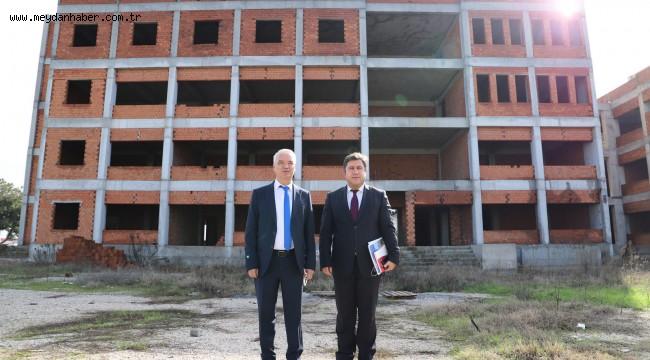 Saruhanlıda Yüksekokul Binasının Yapımı İhale Edildi