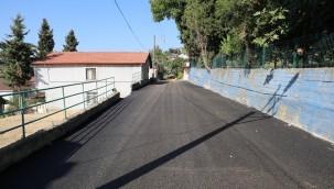 İzmit Belediyesi, Tüysüzler'de de asfalt yolu yeniledi
