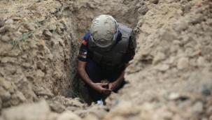 Arazide el bombası bulundu