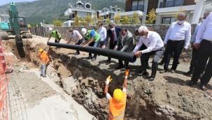 """Başkan Gürün, """"Fethiye Kanalizasyon Hatlarının 88 kilometresini Tamamladık"""""""