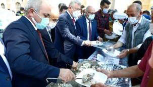 Çankırı'da Vatandaşlara Ahi Pilavı İkram Edildi