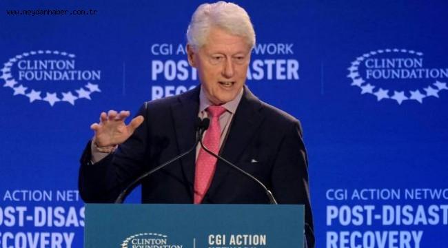 Eski ABD Başkanı Clinton hastaneye kaldırıldı